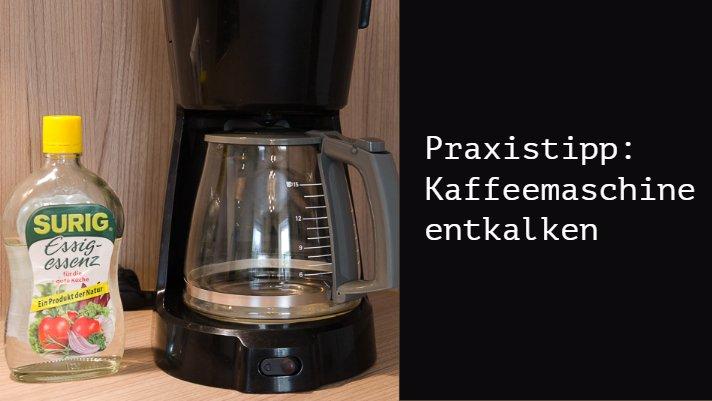 Häufig Kaffeemaschine entkalken – so geht´s richtig • Kaffeetastisch GO74