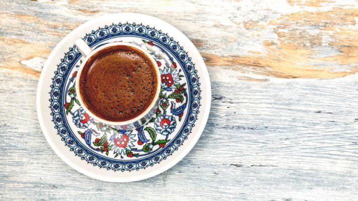 türkischen kaffee kochen