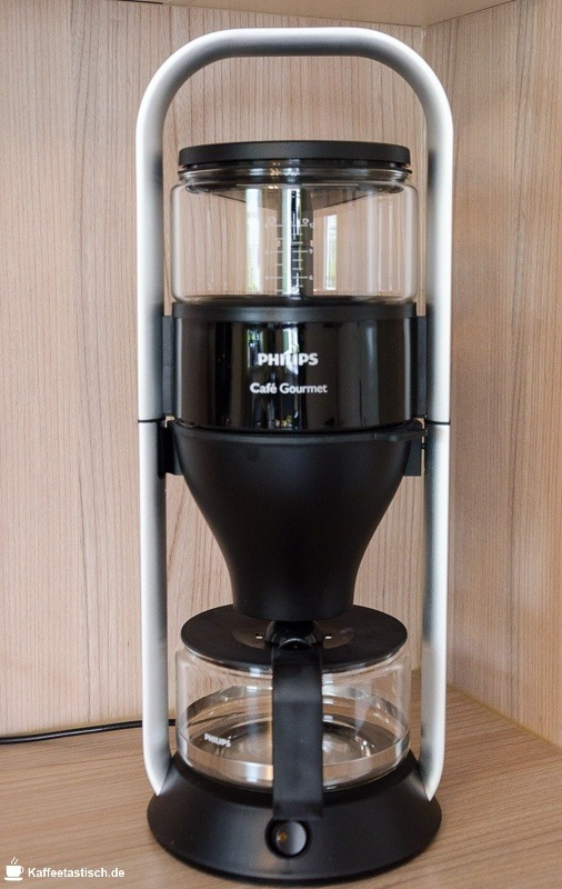 Testbericht Philips HD5407/60 cafe gourmet hohe bauform